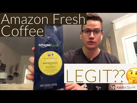 AmazonFresh Organic Fair Trade Peru Whole Bean Coffee Review