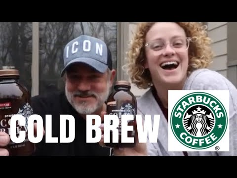 TRYING STARBUCKS COLD BREW VANILLA & FIG | COCOA & HONEY COFFEE!