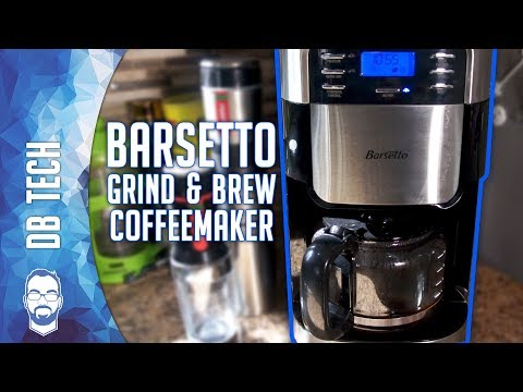 Review: Barsetto Grind & Brew Automatic Coffeemaker