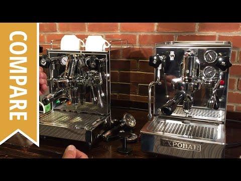 Compare: Expobar Office Lever and ECM Mechanika IV Espresso Machines