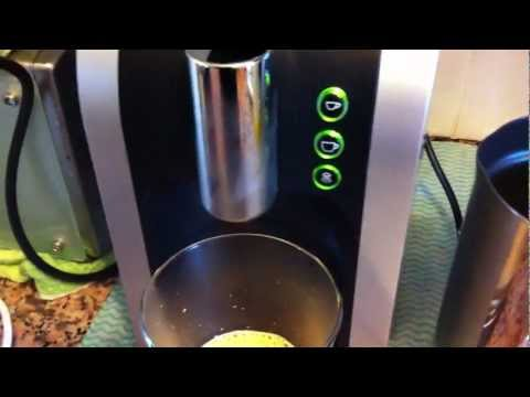ALDI K-fee system Expressi coffee machine demo