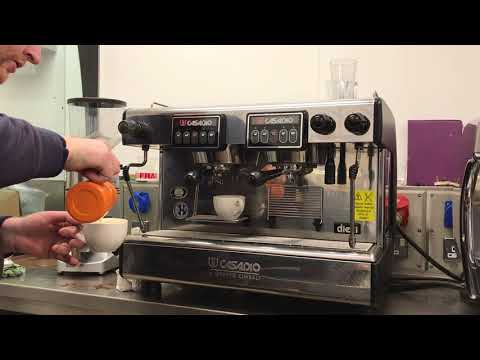 Casadio Cimbali Traditional commercial espresso Machine fully refurbished demonstration