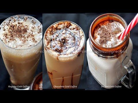 Cold Coffee Recipe | 3 ধরনের ঠান্ডা ঠান্ডা কোল্ড কফি | Easy Quick Instant Cold Coffee Recipe
