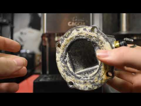 Unblocking a Solenoid Valve on Gaggia Espresso Machines