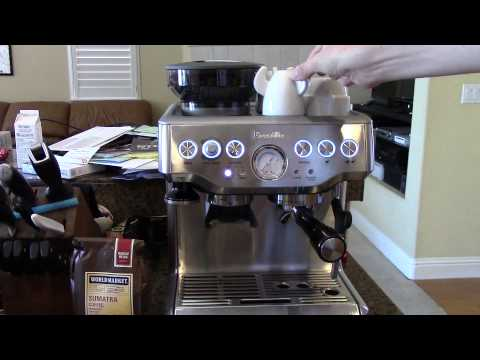 How To Use The Breville Barista Express