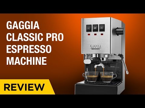 Gaggia Classic Pro Espresso Machine Preview
