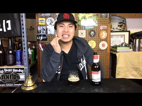 Goose Island Bourbon County Brand Coffee Barleywine (2018) Review – Ep. #1983