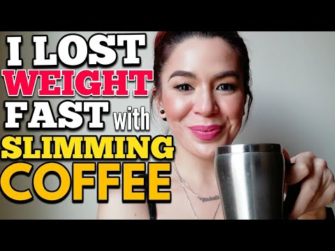 I LOST WEIGHT FAST with SLIMMING COFFEE!  ONE MONTH CHALLENGE – DUBAI BASED REVIEW (2018)