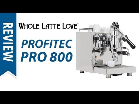 Review: Profitec Pro 800 Spring Lever Espresso Machine