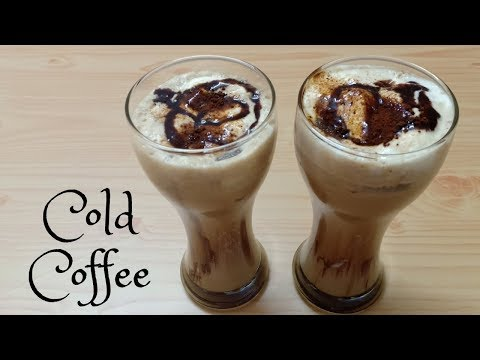 Cold Coffee Recipe – How To Make Cold Coffee – Iced Coffee Recipe