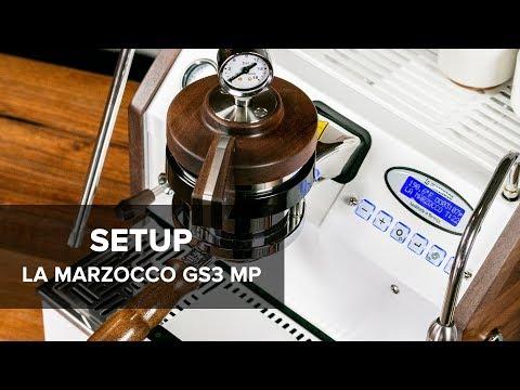 La Marzocco GS3 MP Espresso Machine Setup Guide