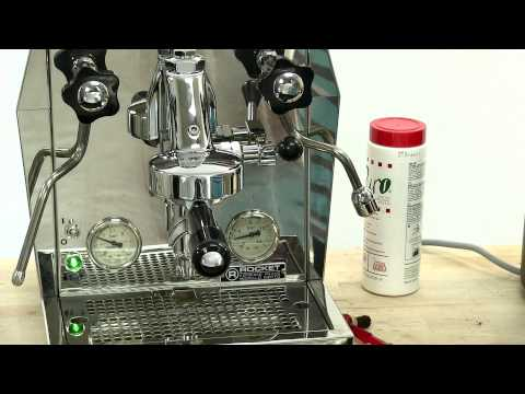 How to back flush a Rocket Giotto or other Espresso Machine