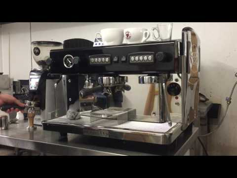 Expobar Traditional Espresso machine demonstration