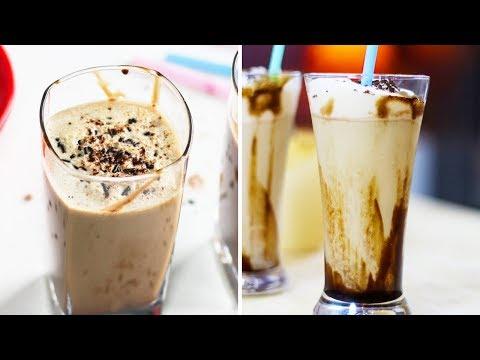 कोल्ड कॉफ़ी बनाइये दो तरीकों से झटपट | Cold Coffee Recipe In Hindi | Iced Coffee