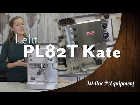 Lelit PL82T Kate Espresso Machine w/ Built-in Grinder