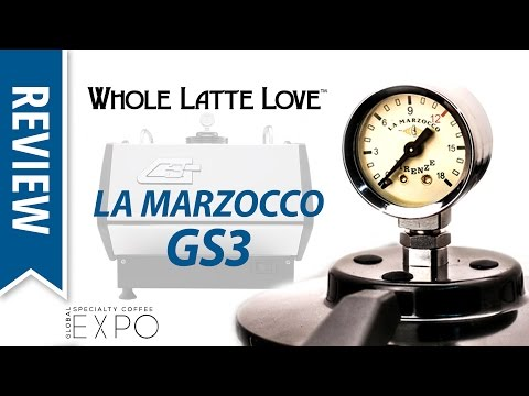 Review: La Marzocco GS3 Espresso Machine at SCA Expo 2017