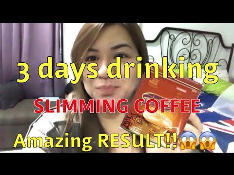 3 DAYS USING LISHOU SLIMMING COFFEE | Lishou Slimming Coffee Review