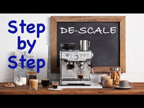 Breville De-Scale – Step by Step Instructions
