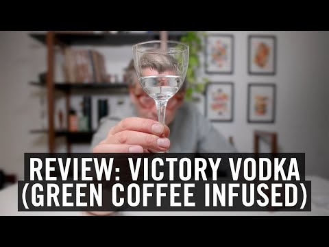 Clear Coffee Review Victory (Green Coffee) Vodka