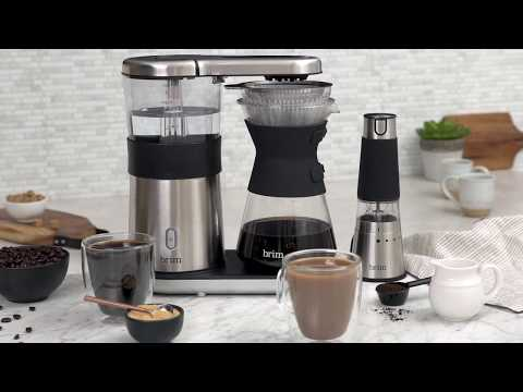 Brim Coffee Demo –  8 Cup Pour Over Coffee Maker