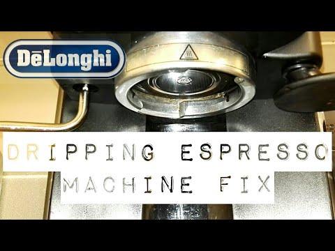 How To Fix A Dripping Delonghi Espresso Machine.