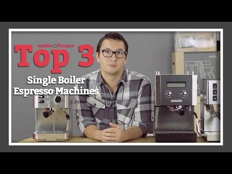Top 3 Single Boiler Espresso Machines | SCG's Top Picks