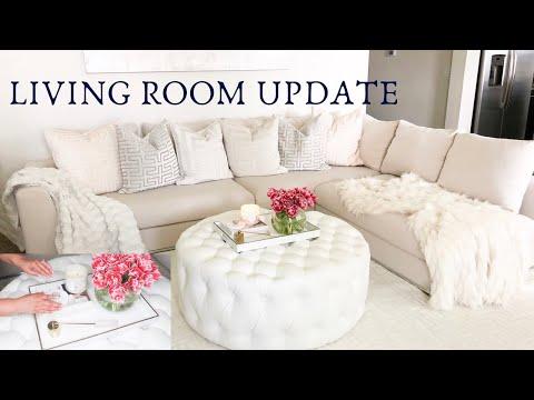 LIVING ROOM UPDATE | WAYFAIR SOFA REVIEW | COFFEE TABLE DIY