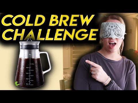 Best Amazon Cold Brew Maker? – Semko Cold Brew Review – BLINDFOLDED CHALLENGE!