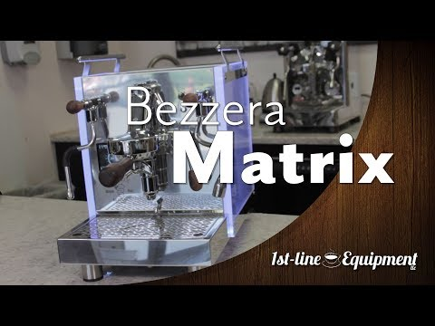 Bezzera Matrix Espresso Machine