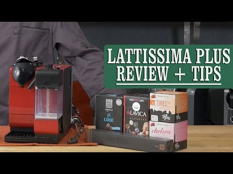 Review + Tips: De'Longhi Nespresso Lattissima Plus Espresso Machine