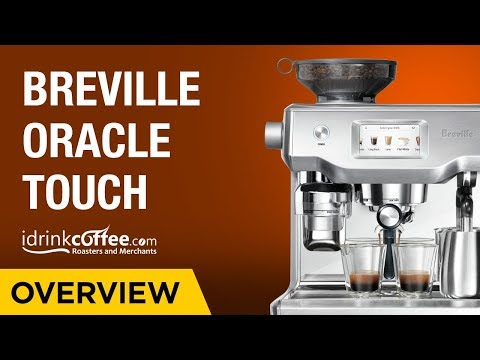 Breville The Oracle Touch BES990BSS Espresso Machine Presentation