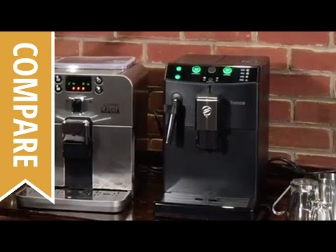Compare: Gaggia Brera and Saeco Pure Espresso Machines