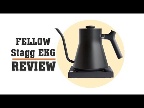 Fellow Stagg EKG Review – Gooseneck Electric Kettle for Coffee