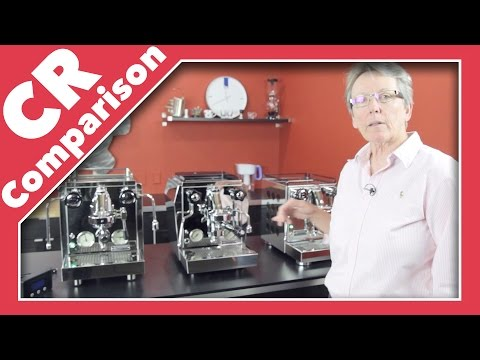 Rocket Espresso Machine Class Line-Up | CR Comparison