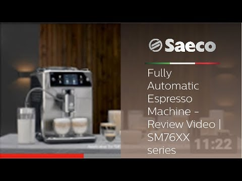 Saeco Xelsis – Fully Automatic Espresso Machine – Review Video | SM76XX series