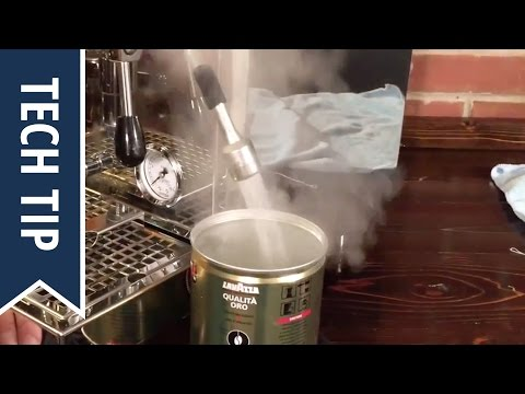 How To Drain a Dual-Boiler E61 Espresso Machine