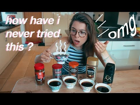 ultimate coffee taste test (life changing)