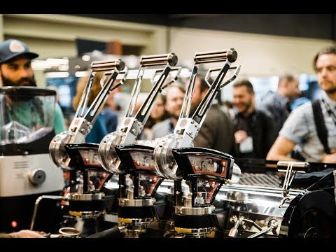 La Marzocco Leva Espresso Machine at Speciatly Coffee Expo 2018