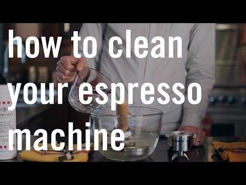 How to Clean Your Espresso Machine