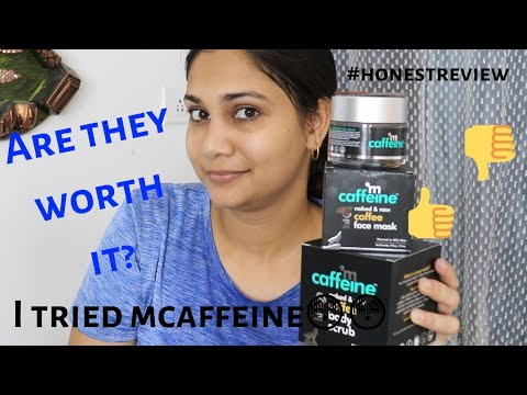 Coffee Infused Skin Care for Normal to Oily Skin! mcaffeine review| Giveaway worth Rs 500