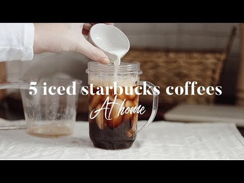 5 Iced Starbucks Drinks You Can Make AT HOME