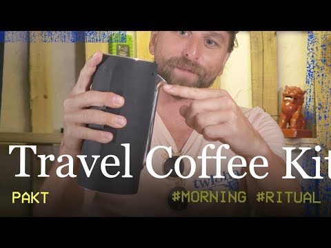 TRAVEL COFFEE: Pakt Travel Coffee Kit Review