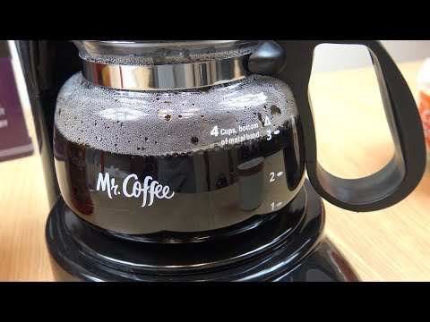 Mr. Coffee 4 Cup Coffee Maker (Review Demo)