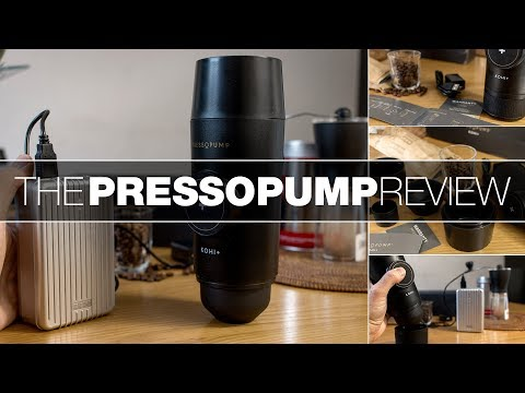 Pressopump Review  – USB Powered Portable Espresso Machine