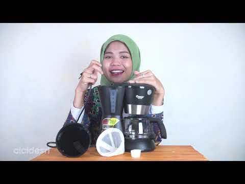 Alat pembuat kopi murah!!! UNBOXING COSMOS CCM – 308