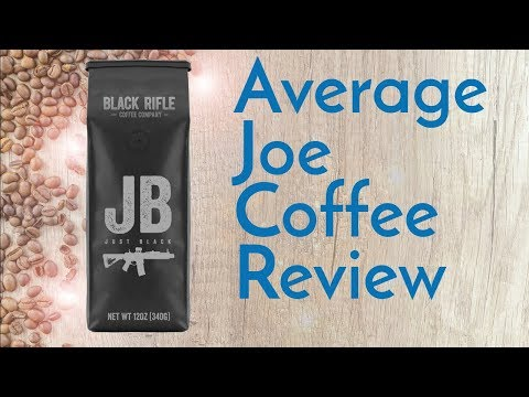 Black Rifle Just Black Coffee Review