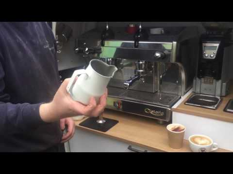 Astoria Perla dual fuel espresso machine. Mobile coffee van setup