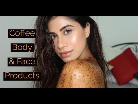 COFFEE FACE & BODY PRODUCTS || Review & Demo || Malvika Sitlani