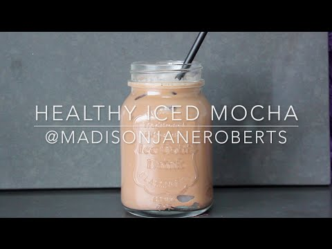Iced Mocha | Healthy & Easy