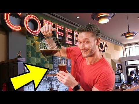 Nitro Coffee & Cold Brew vs. Regular Coffee | Caffeine Levels (Coffee Review)